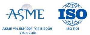 ASME Y14.5M-1994 Y14.5-2009 ISO 1101